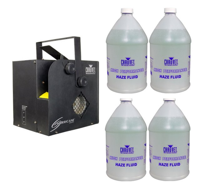 fog machine fluid, fog machine water, chauvet fog machine