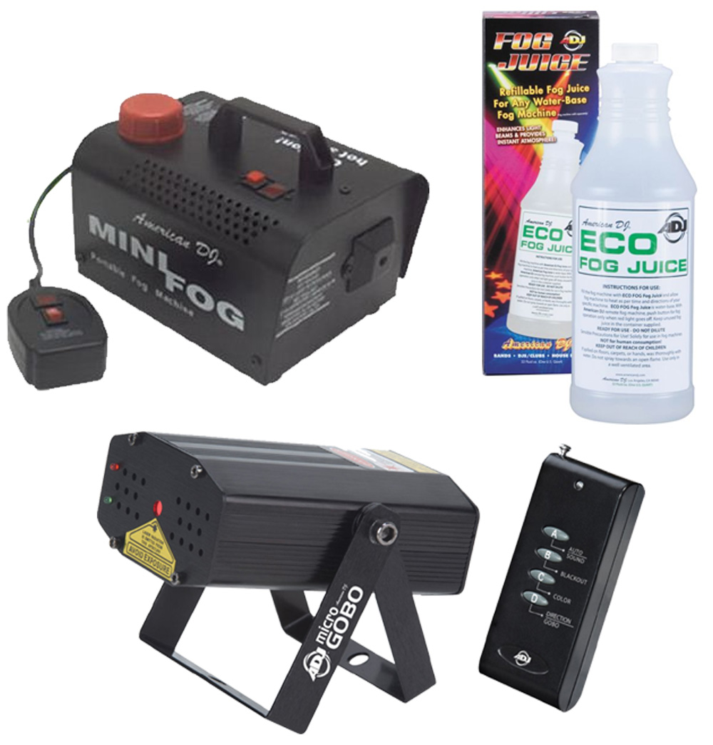 small battery operated fog machine