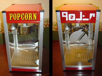 Popcorn Machine, Electric Popcorn Poppers, Jericho Coffee Grinders, Fog Machine Videos