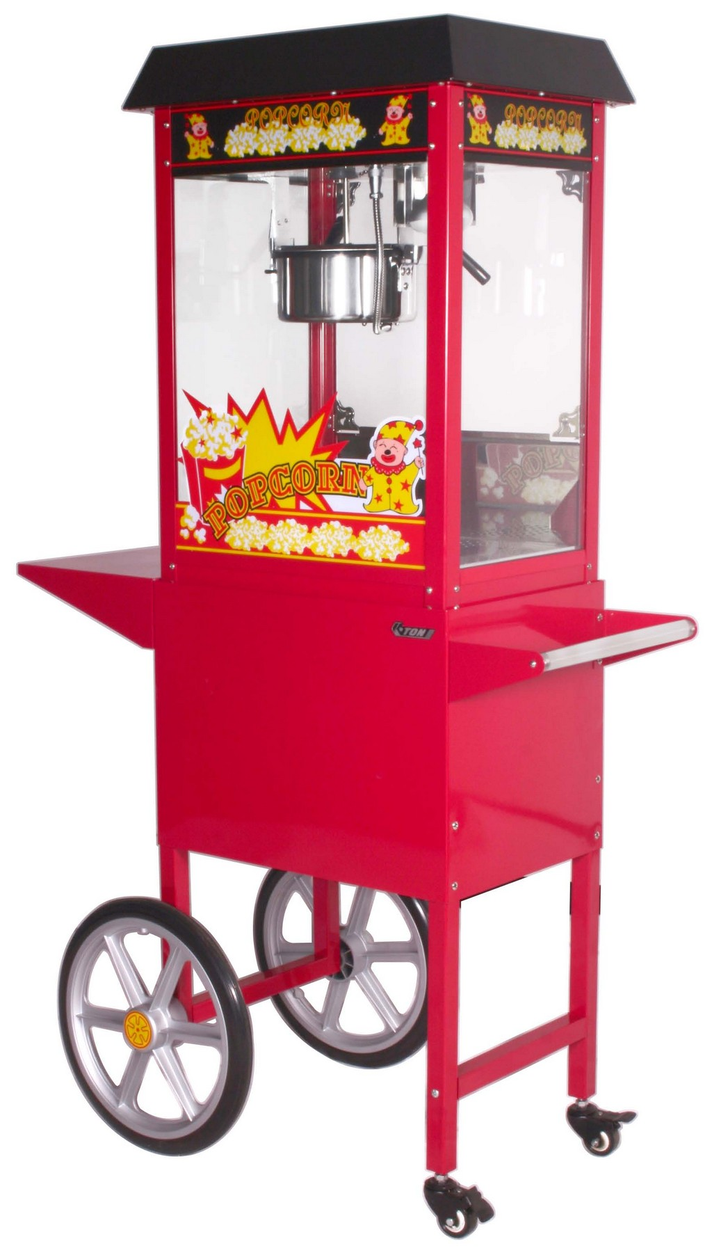 echols popcorn machine, popcorn machine cleaning, waring popcorn maker