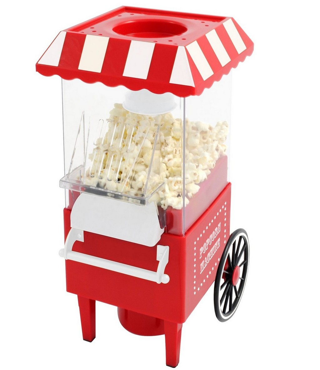 counter top popcorn popper, popcorn machine for home, hot air popcorn maker