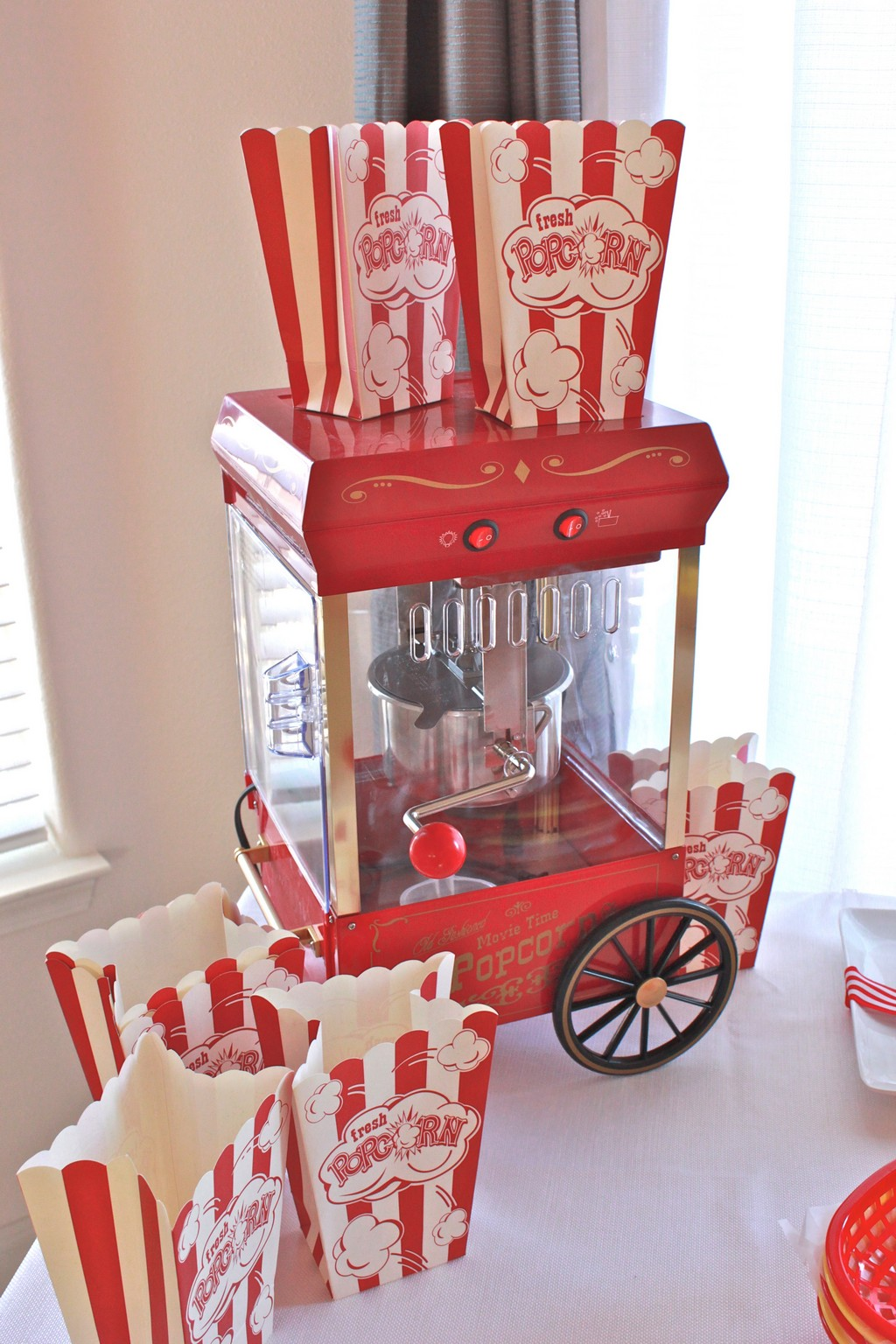 old fashioned popcorn maker, popcorn machine, popcorn machine uk