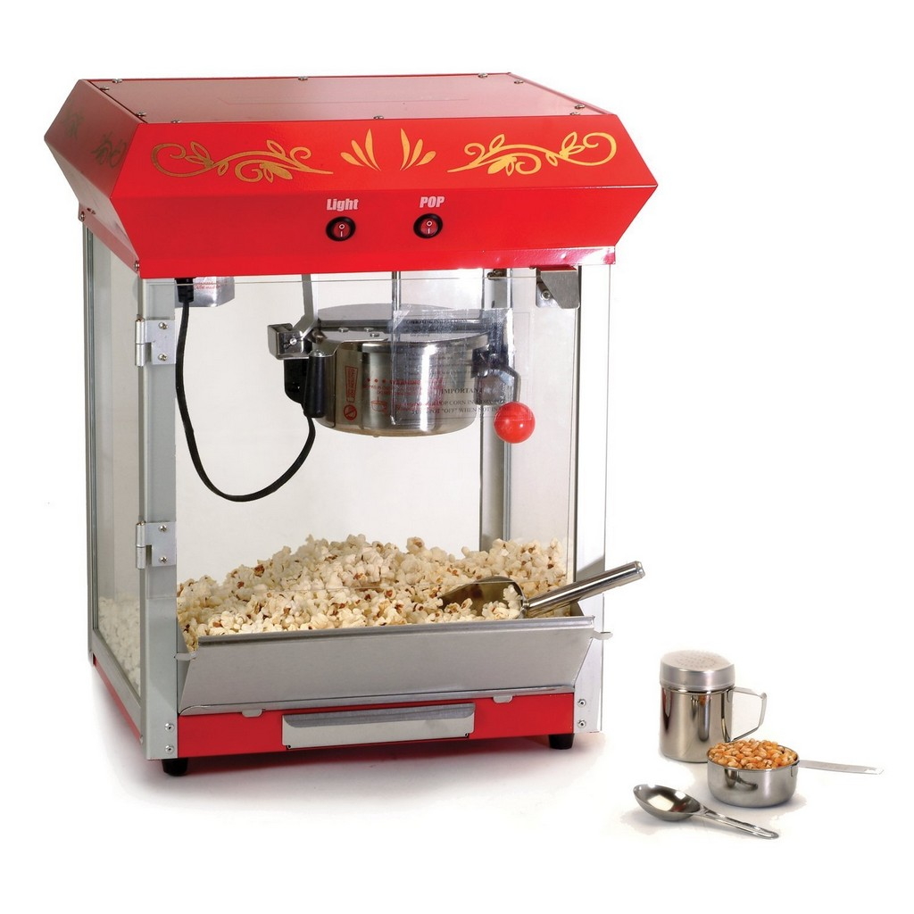 commercial popcorn machine, wurlitzer popcorn machine, nostalgia electrics popcorn machine