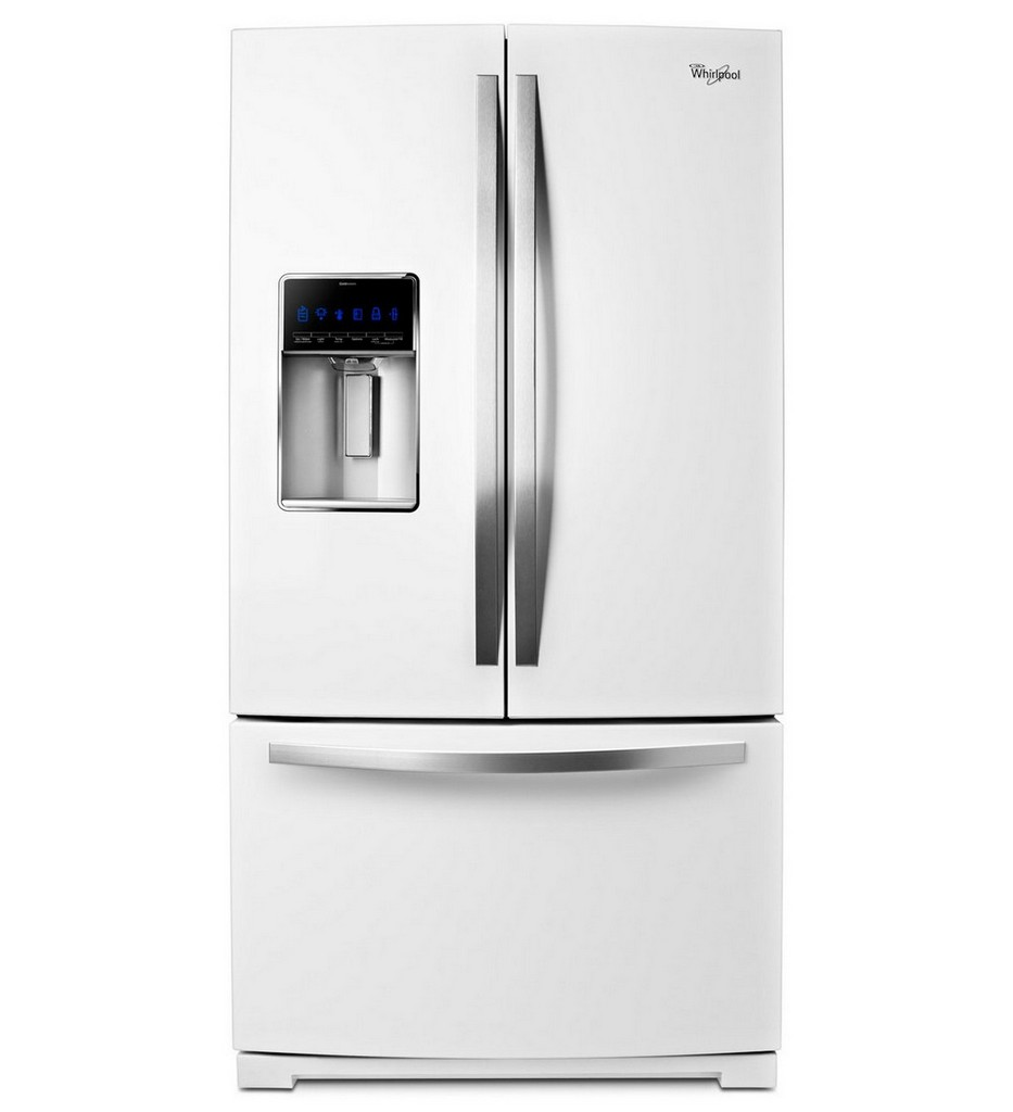 white refrigerator, highest rated refrigerator, small fridge