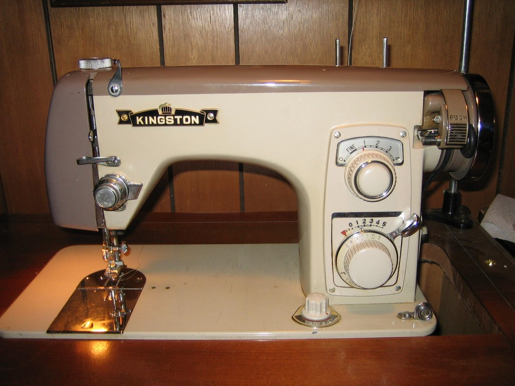 machine sewing used