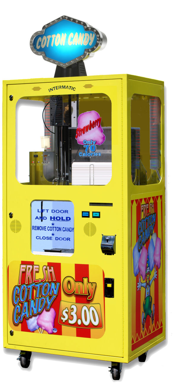 cotton candy vending machine, vending machine mexico, vending machine business