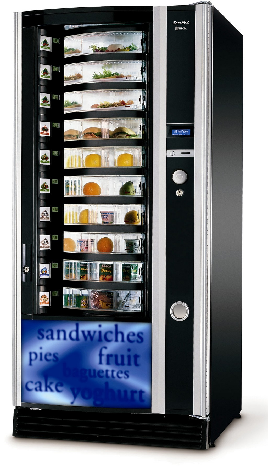 vending machine canada, reverse vending machine, beef jerky vending machine