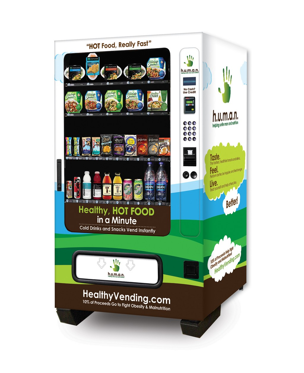 healthy vending machine, healthy snacks vending machine, drinks vending machine