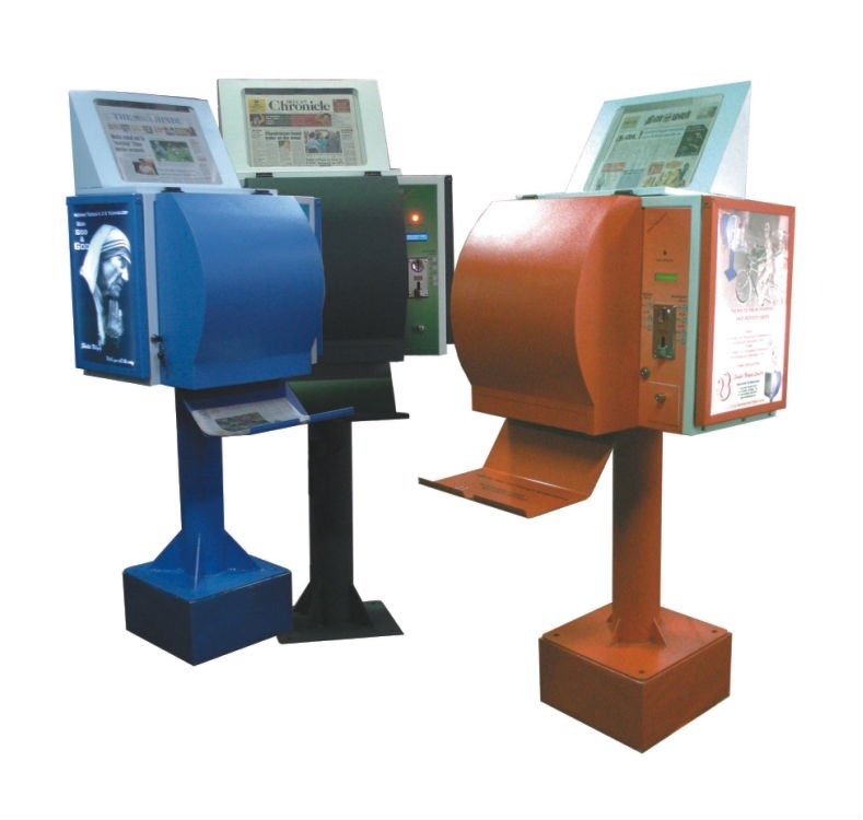newspaper vending machine, coffee vending machine for sale, gatorade vending machine