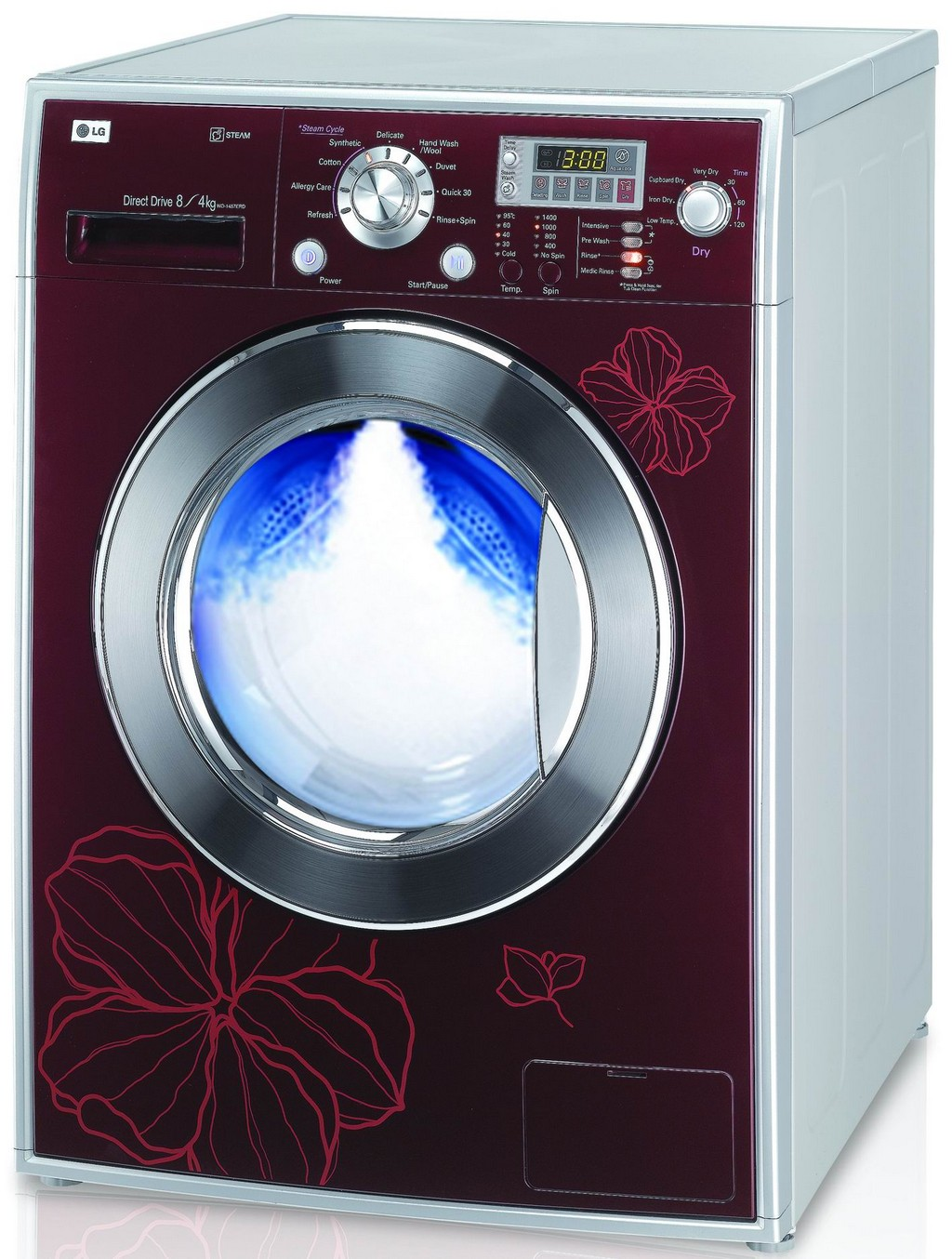 used washing machine, steam washing machine, washing machine